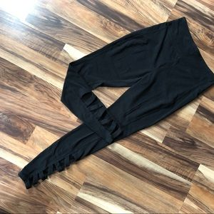 Mossimo High Waisted Cut Out Leggings Sz M
